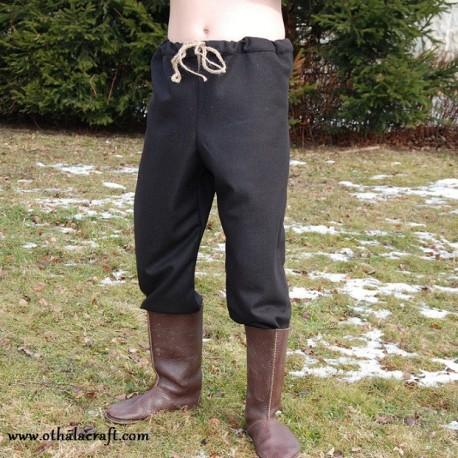 Woolen trousers