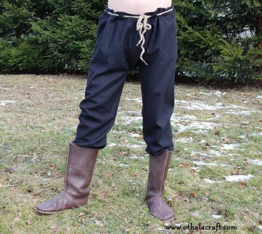 Woolen Thorsberg trousers
