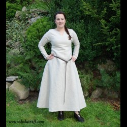 Simple linen Viking dress