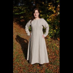 Linen dress 100% hand sewn