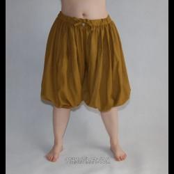 Short Rus Viking trousers from wool - honey