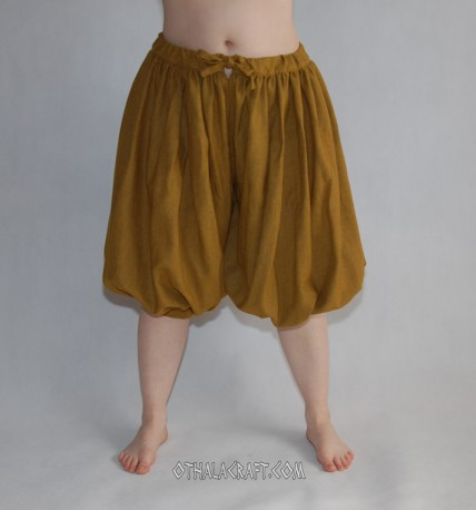 Rus Viking trousers from wool - honey