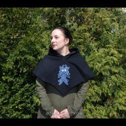Hood from Skjoldehamn - embroidery motif from Arhus