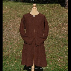 Brown woolen kaftan