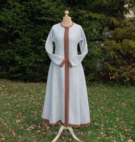 Diamond twill Viking lady coat – honey