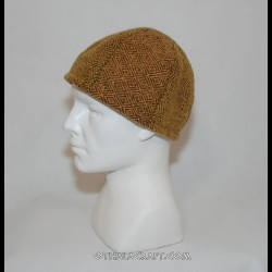 Tree colors woolen hat - Birka style