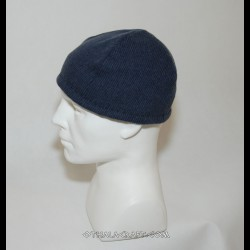 Dark blue woolen hat