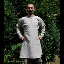 Hand made linen Viking tunic